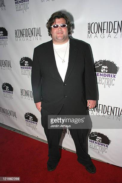 Jason Davis during Los Angeles Confidential Magazine PreEmmy Party Honoring Kyra Sedgwick Presented by Hendrix Electric Vodka August 25 2006 at...