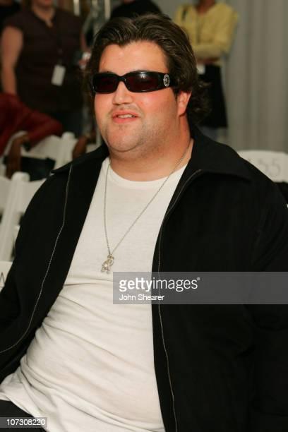 Jason Davis front row at Joseph Domingo Fall 2006 during MercedesBenz Fall 2006 LA Fashion Week at Smashbox Studios Joseph Domingo Backstage and...