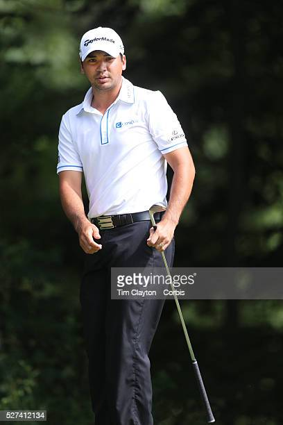 Jason Day Australia in action during the third round of the Travelers Championship at the TPC River Highlands Cromwell Connecticut USA 21st June 2014...