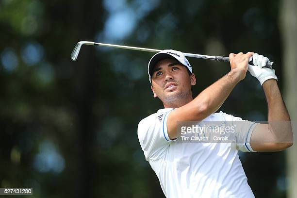 Jason Day, Australia, in action during the third round of the Travelers Championship at the TPC River Highlands, Cromwell, Connecticut, USA. 21st...