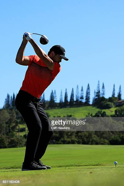 Jason Day of Australia plays his shot from the third tee during the third round of the SBS Tournament of Champions at the Plantation Course at...