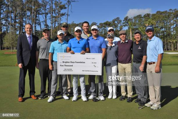 Jason Day of Australia takes part in THE PLAYERS Media Day and Charity Challenge at TPC Sawgrass on March 7, 2017 in Ponte Vedra Beach, Florida.