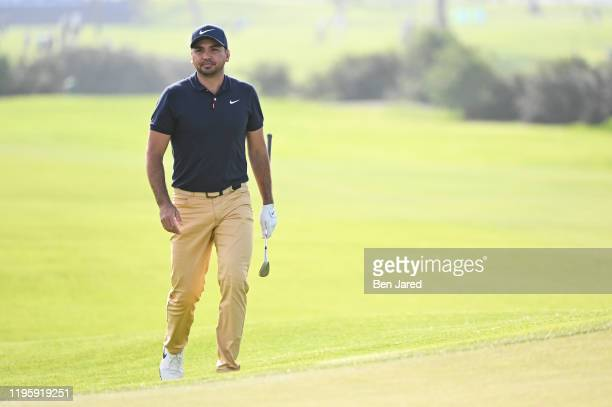 Jason Day of Australia walks onto the north course 13th green during the second round of the Farmers Insurance Open at Torrey Pines South on January...