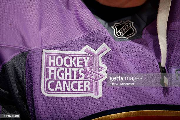 new product ec656 f7d07 Hockey Fights Cancer Pictures and Photos - Getty Images