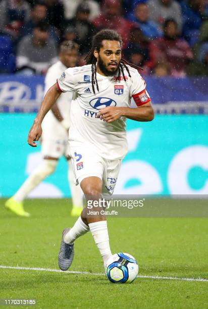 Jason Denayer of Lyon during the Ligue 1 match between Olympique Lyonnais and Paris Saint-Germain on September 22, 2019 in Decines near Lyon, France.