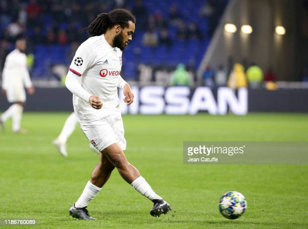Jason Denayer of Lyon during the UEFA Champions League group G match between Olympique Lyonnais and SL Benfica at Groupama Stadium on November 5,...