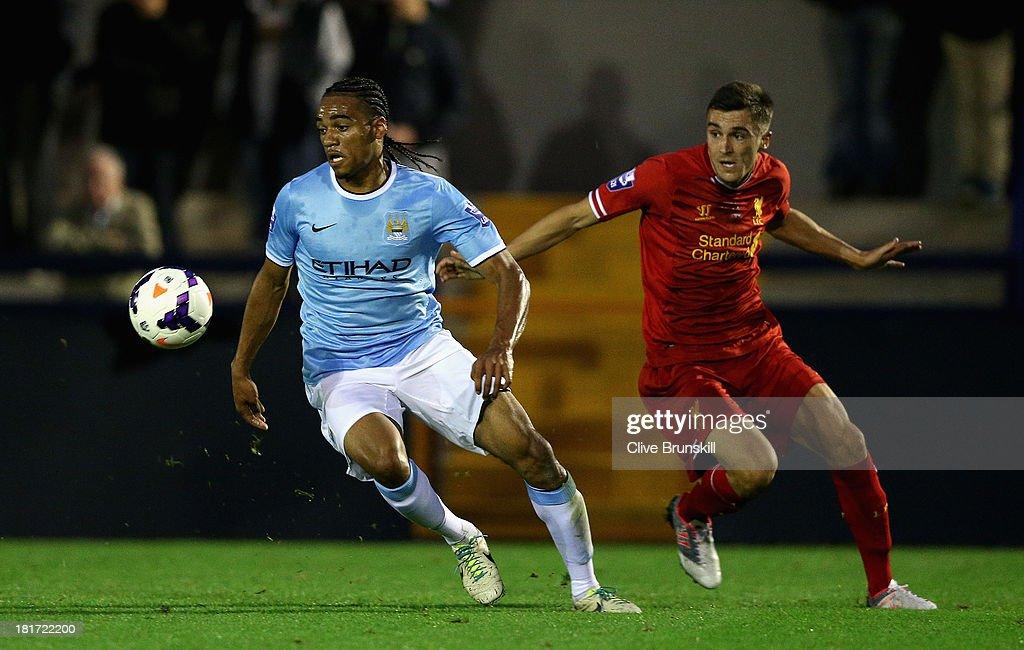 Manchester City U21 v Liverpool U21 - Barclays U21s Premier League : News Photo