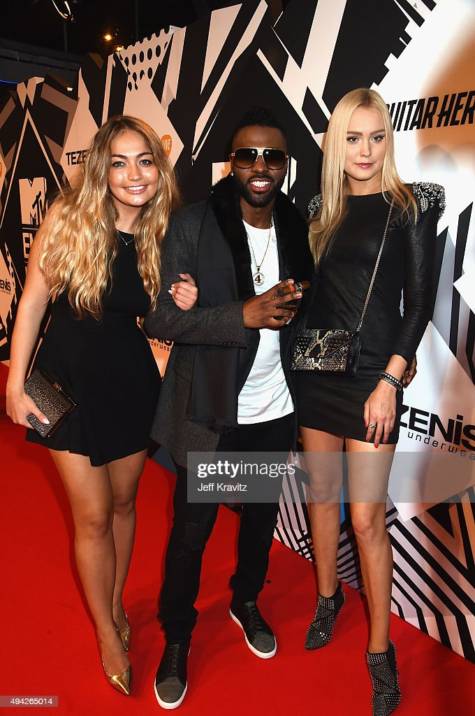 Jason Derulo and guests attend the MTV EMA's 2015 at Mediolanum Forum on October 25, 2015 in Milan, Italy.