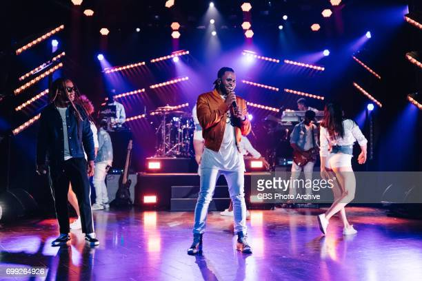 Jason Derulo and Ty Dolla $ign perform during 'The Late Late Show with James Corden' Monday June 19 2017 On The CBS Television Network