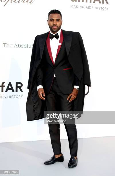 Jason Derulo arrives at the amfAR Gala Cannes 2018 at Hotel du CapEdenRoc on May 17 2018 in Cap d'Antibes France