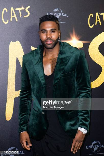 Jason Derulo at the photo call for the movie CATS at Soho House on December 10 2019 in Berlin Germany