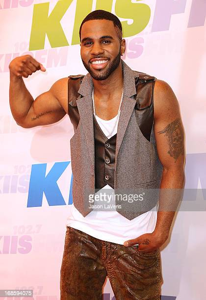 Jason Derulo attends 1027 KIIS FM's Wango Tango at The Home Depot Center on May 11 2013 in Carson California