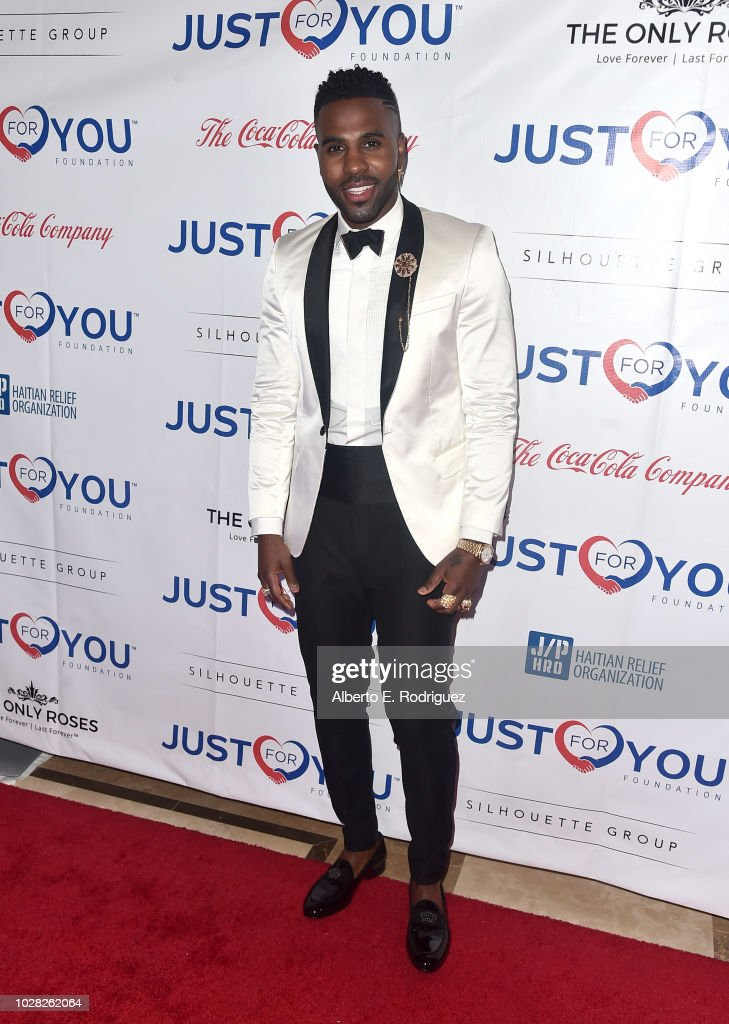 Jason Derulo attends Jason Derulo's Just For You Foundation's Inaugural 'Heart Of Haiti' Gala on September 6, 2018 in Beverly Hills, California.