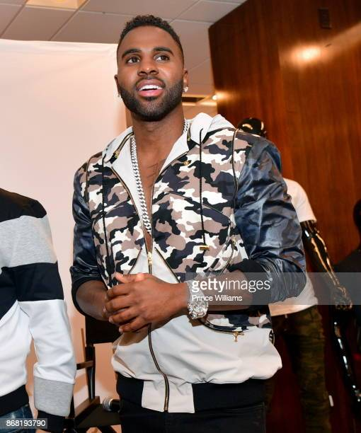 Jason Derulo attends LVL XIII Luxury wear at Bloomingdale's Lenox Square Mall on October 29 2017 in Atlanta Georgia
