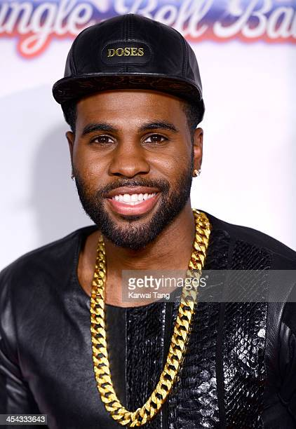 Jason Derulo attends on day 2 of the Capital FM Jingle Bell Ball at the 02 Arena on December 8 2013 in London England