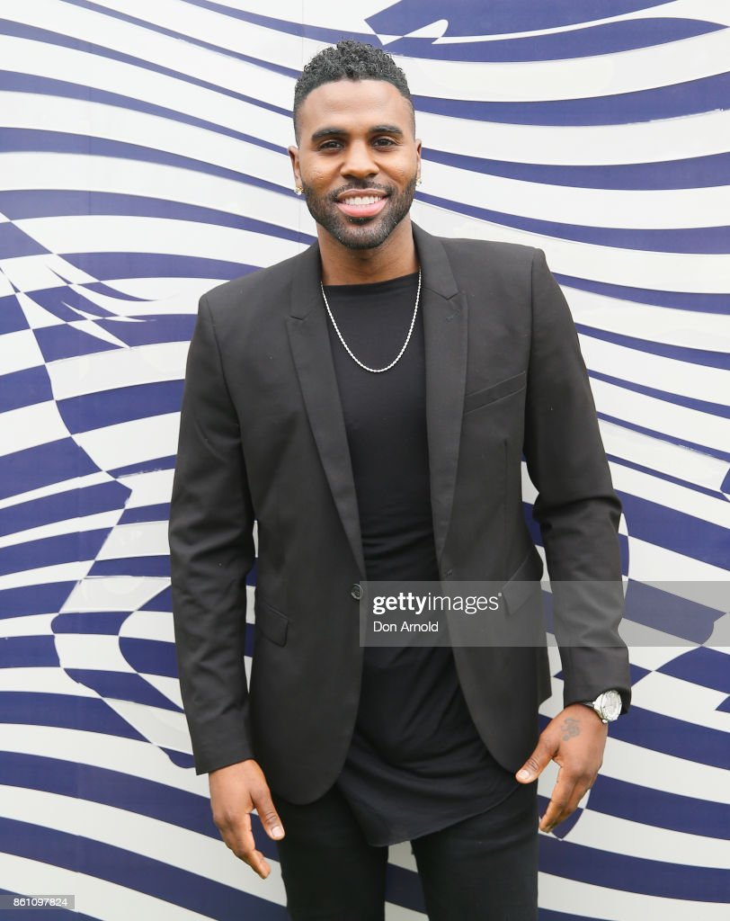 Jason Derulo attends TAB Everest Day at Royal Randwick Racecourse on October 14, 2017 in Sydney, Australia.