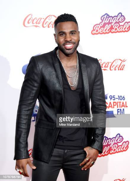 Jason Derulo attends the Capital FM Jingle Bell Ball at The O2 Arena on December 09 2018 in London England