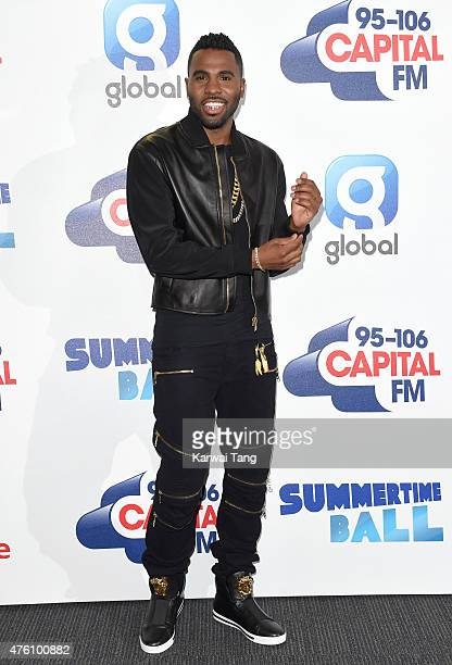 Jason Derulo attends the Capital FM Summertime Ball at Wembley Stadium on June 6 2015 in London England