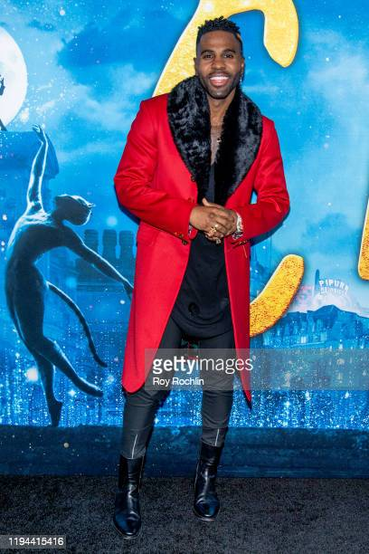 Jason Derulo attends the Cats World Premiere at Alice Tully Hall Lincoln Center on December 16 2019 in New York City