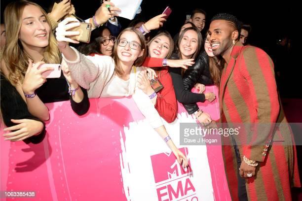 Jason Derulo attends the MTV EMAs 2018 at the Bilbao Exhibition Centre on November 04 2018 in Bilbao Spain