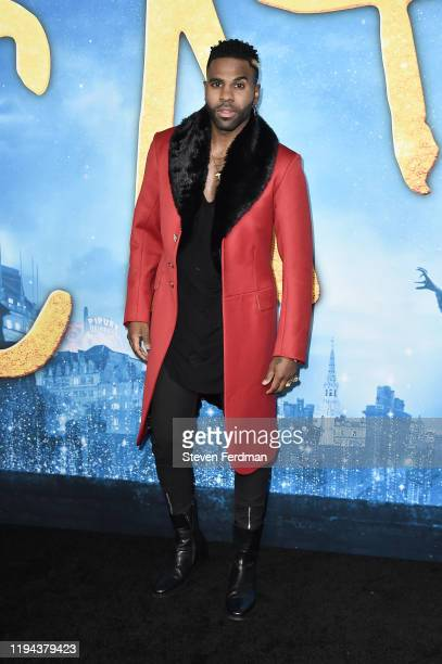 """Jason Derulo attends the world premiere of """"Cats"""" at Alice Tully Hall, Lincoln Center on December 16, 2019 in New York City."""