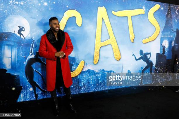 Jason DeRulo attends the world premiere of Cats at Alice Tully Hall Lincoln Center on December 16 2019 in New York City
