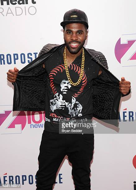 Jason Derulo attends Z100's Jingle Ball 2013 presented by Aeropostale at Madison Square Garden on December 13 2013 in New York City