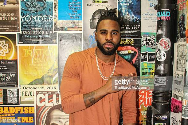 Jason DeRulo during 973 Hits Session at Revolution on April 27 2016 in Fort Lauderdale Florida