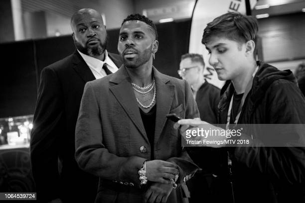 Jason Derulo during the MTV EMAs 2018 at Bilbao Exhibition Centre on November 04 2018 in Bilbao Spain