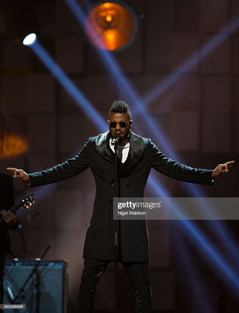 Jason Derulo of United States performs on stage during the Nobel Peace Prize concert at Telenor Area on December 11, 2015 in Oslo, Norway. The Nobel Peace Concert is hosted by Jay Leno to honour this year's Nobel Peace Prize winners the National Dialogue Quarter members Houcine Abbassi, Secretary General of the Tunisian General Labour Union, Mohamed Fadhel Mahmoud, President of the National Bar Association of Tunisian and Abdessattar Ben Moussa, President of the Tunisian Human Rights, and Wided Bouchamaoui, President of the Tunisian Human Rights League on December 11, 2015 in Oslo, Norway.