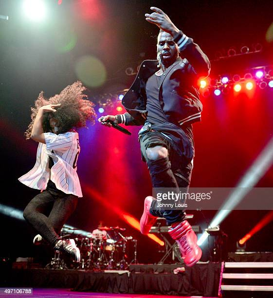 Jason Derulo performs at Hard Rock Live in the Seminole Hard Rock Hotel Casino on November 13 2015 in Hollywood Florida