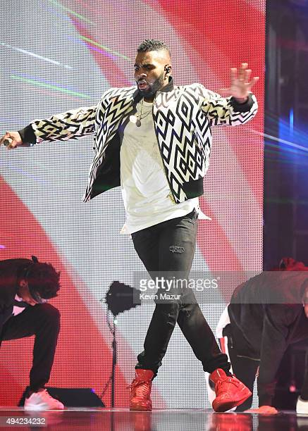 Jason Derulo performs at the MTV EMA's 2015 at Mediolanum Forum on October 25, 2015 in Milan, Italy.