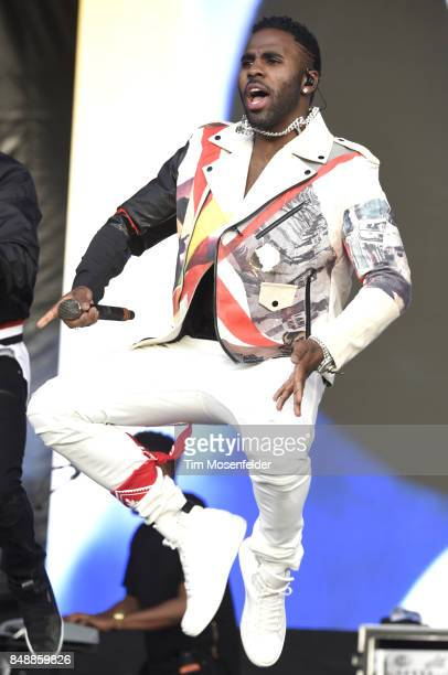 Jason Derulo performs during KAABOO Del Mar at Del Mar Fairgrounds on September 17 2017 in Del Mar California