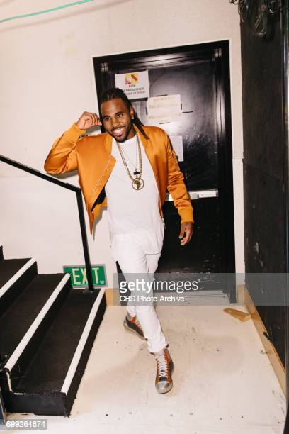 Jason Derulo performs during 'The Late Late Show with James Corden' Monday June 19 2017 On The CBS Television Network