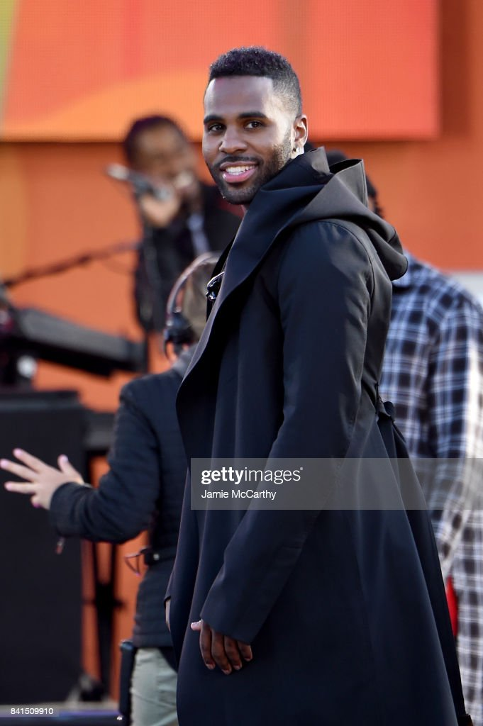 Jason Derulo Performs On ABC's 'Good Morning America' at Rumsey Playfield on September 1, 2017 in New York City.