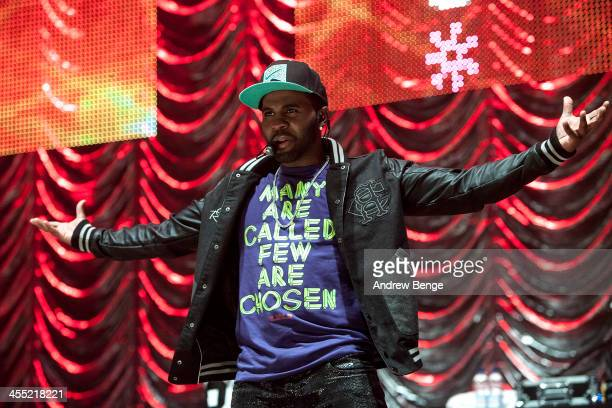 Jason Derulo performs on stage for Radio City Live 2013 at Echo Arena on December 11 2013 in Liverpool United Kingdom