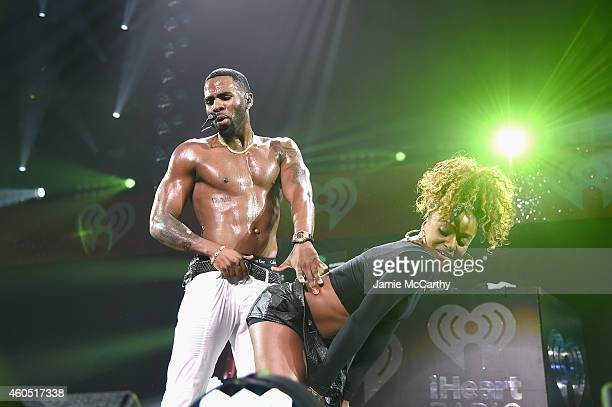Jason Derulo performs onstage during HOT 995's Jingle Ball 2014 Presented by Mattress Warehouse at the Verizon Center on December 15 2014 in...