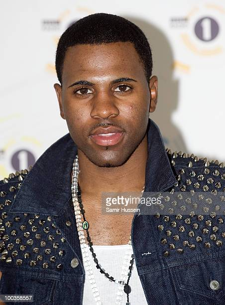 Jason Derulo poses on day 2 of Radio 1's Big Weekend on May 23 2010 in Bangor Wales
