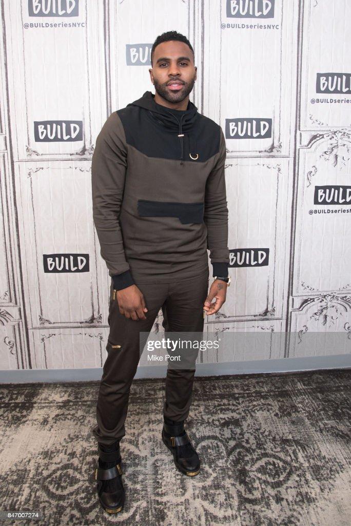 Build Presents Jason Derulo + Fashion Show Discussing The Level 13 Fashion Line