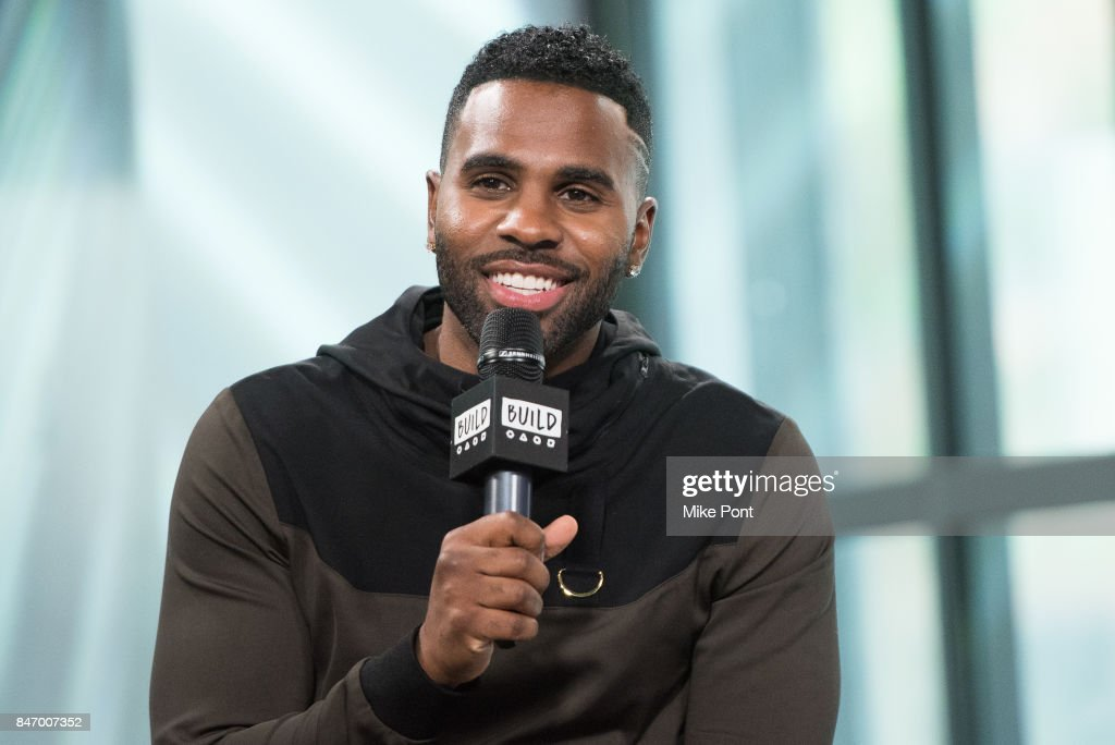 Jason Derulo visits Build Studio to discuss Level 13 Fashion at Build Studio on September 14, 2017 in New York City.