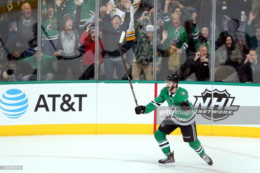 Boston Bruins v Dallas Stars : Foto jornalística