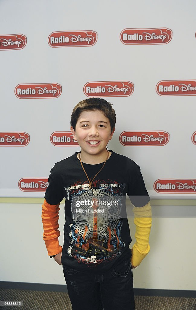 DISNEY - Jason Dolley and Bradley Steven Perry, stars of Disney Channel's comedy series 'Good Luck Charlie,' joined Radio Disney's Ernie D in studio to talk about the new series.