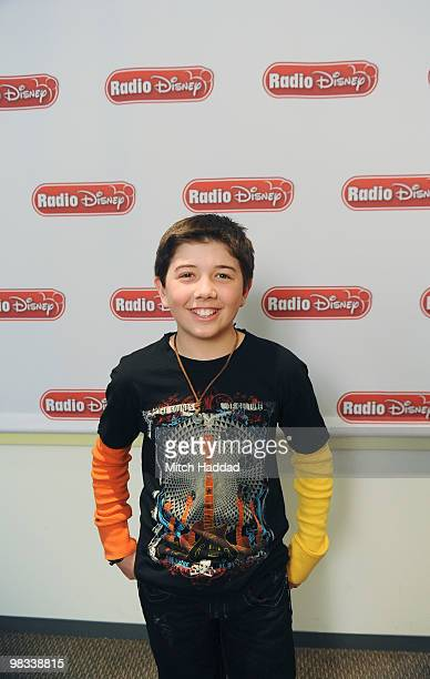 DISNEY Jason Dolley and Bradley Steven Perry stars of Disney Channel's comedy series Good Luck Charlie joined Radio Disney's Ernie D in studio to...