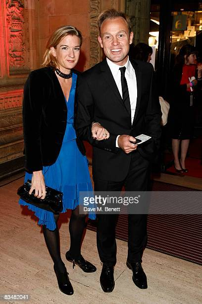 Jason Donovan and partner Angela Malloch attends the National Television Awards 2008 at the Royal Albert Hall on October 29 2008 in London England
