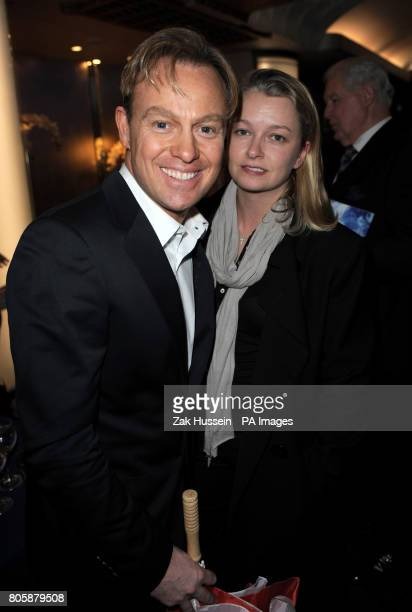 Jason Donovan and wife Angela Malloch during the Whatsonstagecom Theatregoers' Choice Awards 2010 at the Prince of Wales Theatre in central London
