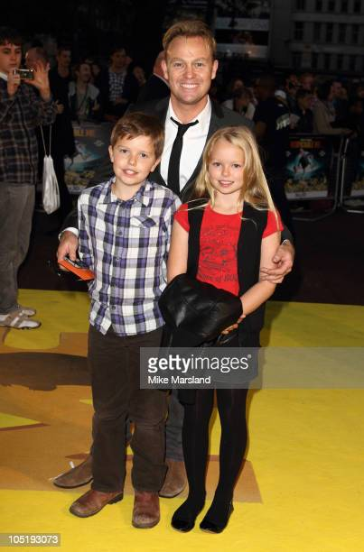Jason Donovan attends the European premiere of 'Despicable Me' at Empire Leicester Square on October 11 2010 in London England