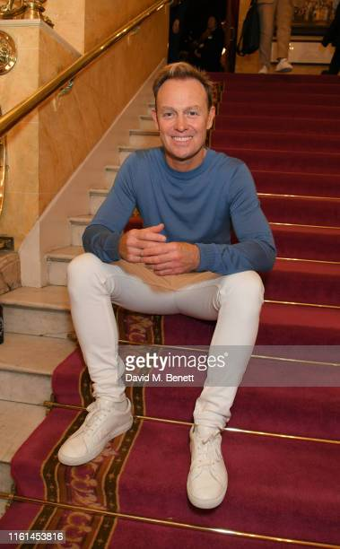 """Jason Donovan attends the press night after party for """"Joseph And The Amazing Technicolor Dreamcoat"""" at The London Palladium on July 11, 2019 in..."""