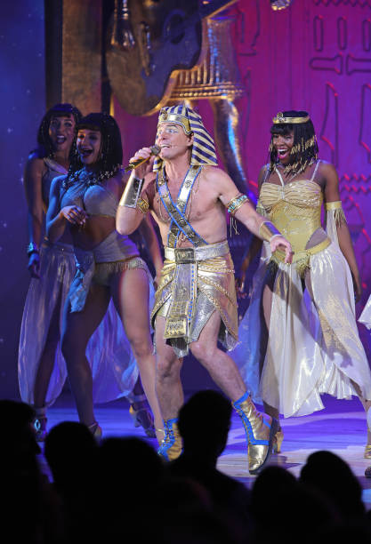 """GBR: """"Joseph And The Amazing Technicolor Dreamcoat"""" - Press Night - Curtain Call & Backstage"""