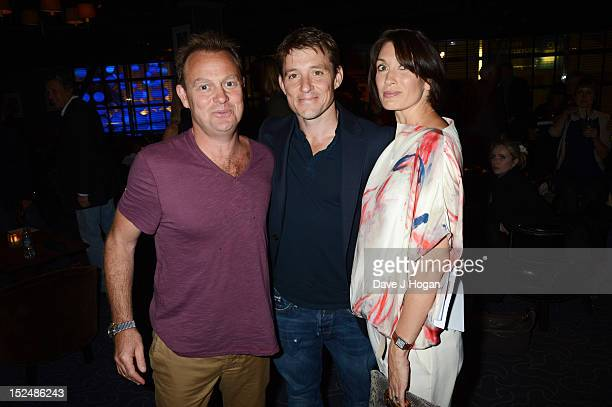 Jason Donovan Ben Shephard and Annie Perks attend the press night for Jesus Christ Superstar the arena tour at The O2 Arena on September 21 2012 in...