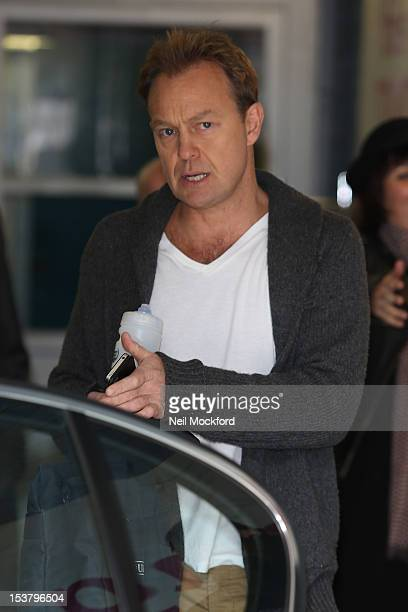Jason Donovan seen at the ITV Studios on October 9 2012 in London England